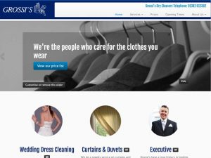 Grossi's Dry Cleaners web site
