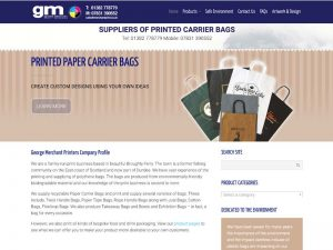 Merchant Print web site