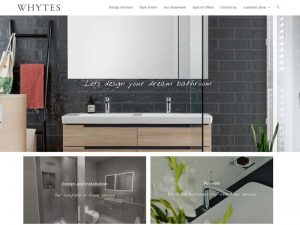 Whytes Bathroom Design suites